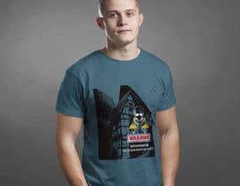 #19 for T-shirt design by sadiksufia