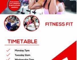 Nro 61 kilpailuun fitness flyer käyttäjältä ixsaiful