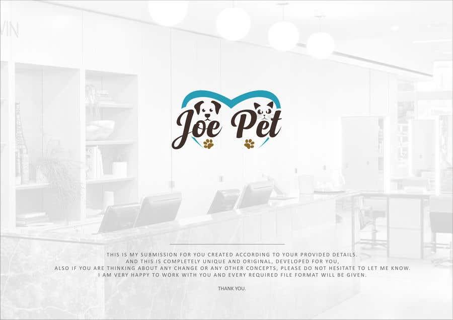 Penyertaan Peraduan #81 untuk design a logo for Pet