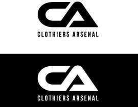 #7 for Clothiers Arsenal logo design af bluebd99