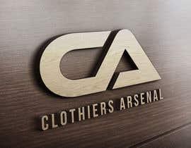 #11 for Clothiers Arsenal logo design af bluebd99