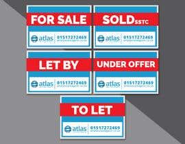 #25 untuk Design a board for estate agent in UK oleh riadhossain789