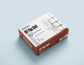 #12 untuk Package Design for a Home Shelving Unit oleh raihan1212