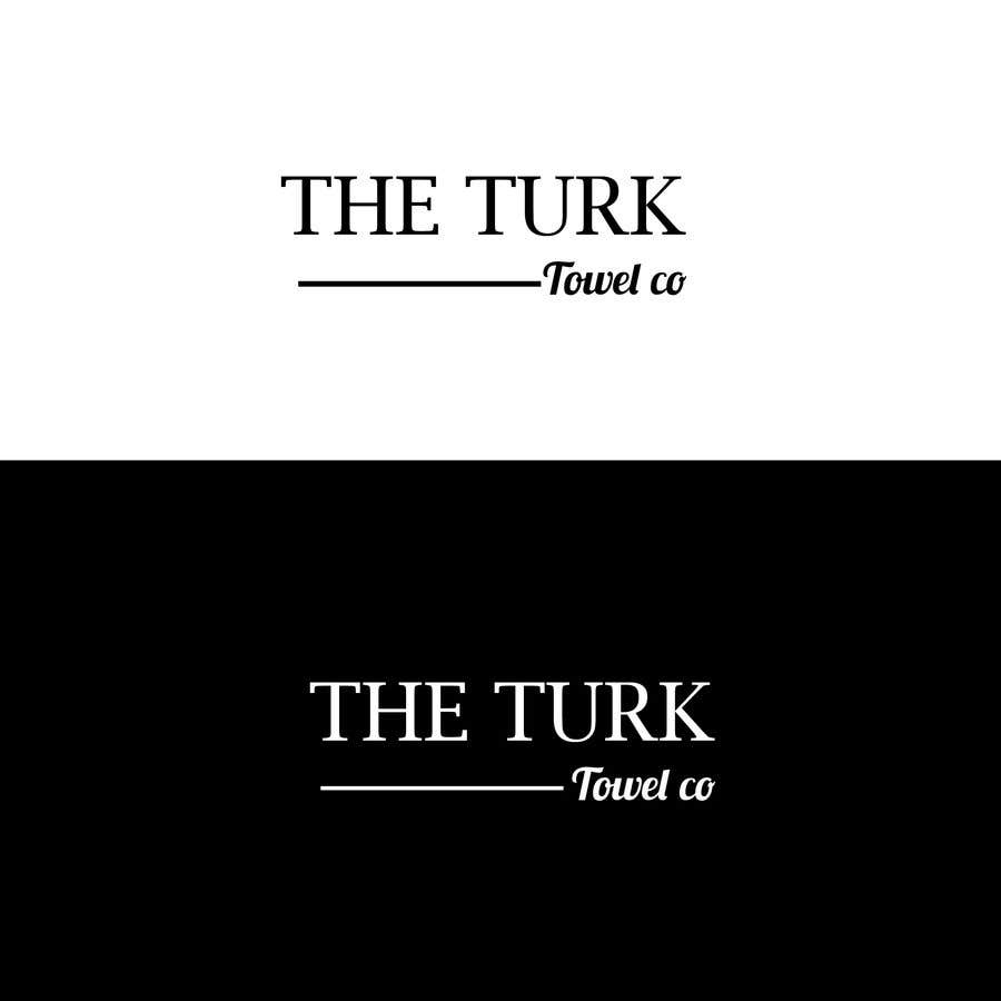 Inscrição nº 19 do Concurso para Create a simple logo using font only for a turkish towel brand