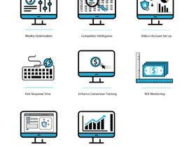 #23 untuk Design 8 Modern and Simple Icons for Our New Website oleh awais7322