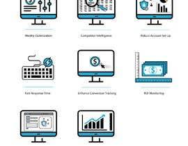 awais7322 tarafından Design 8 Modern and Simple Icons for Our New Website için no 23