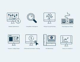#21 untuk Design 8 Modern and Simple Icons for Our New Website oleh babarhossen