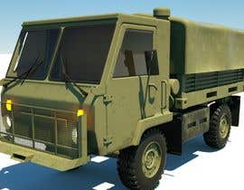 #19 for VEHICLE MODEL (3D PRINTABLE) FROM REFERENCE MATERIAL by arady6