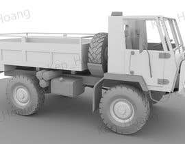 #10 for VEHICLE MODEL (3D PRINTABLE) FROM REFERENCE MATERIAL by KhangHoangg