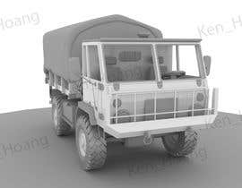 #13 for VEHICLE MODEL (3D PRINTABLE) FROM REFERENCE MATERIAL by KhangHoangg