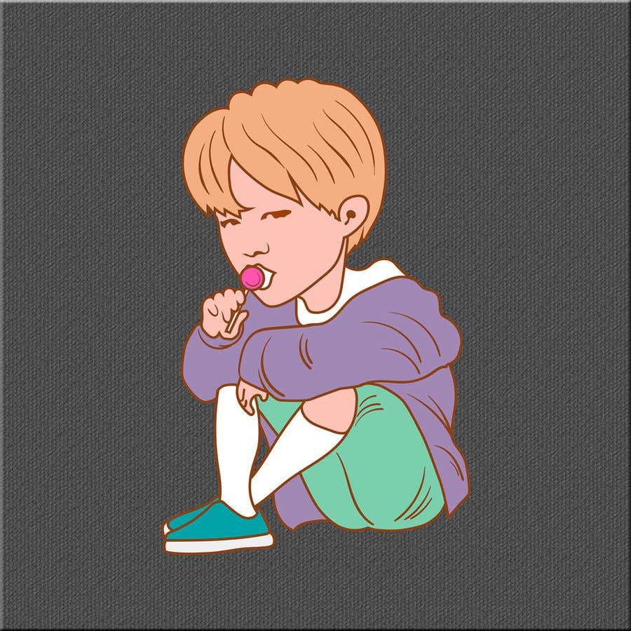 Konkurrenceindlæg #2 for BTS - Caricature Contest