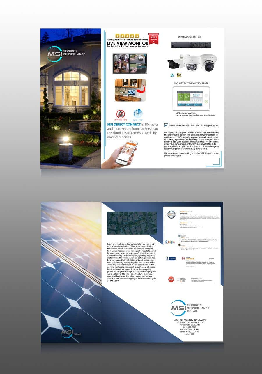 Entry #87 by AhmedYM for Redo a sales flyer - 07/03/2019 18