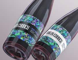 #30 untuk Bottle Label Design for Beverage  FONT; COLOR; ARTWORK; (Potentially a LOGO) oleh amelnich