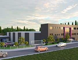 #13 para Realistic exterior renderings for an industry building de ShaffuAV