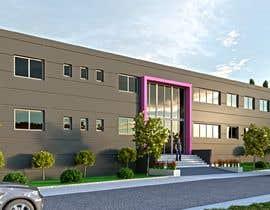 #14 para Realistic exterior renderings for an industry building de ShaffuAV
