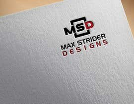 #4 untuk I require a logo designed for a company called Max Strider Designs. We produce high end hand crafted products. Vector png and JPEG formats. Thank you. oleh RedRose3141