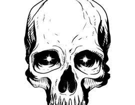 #29 for Illustrate a Skull Head by Freemanshorizon