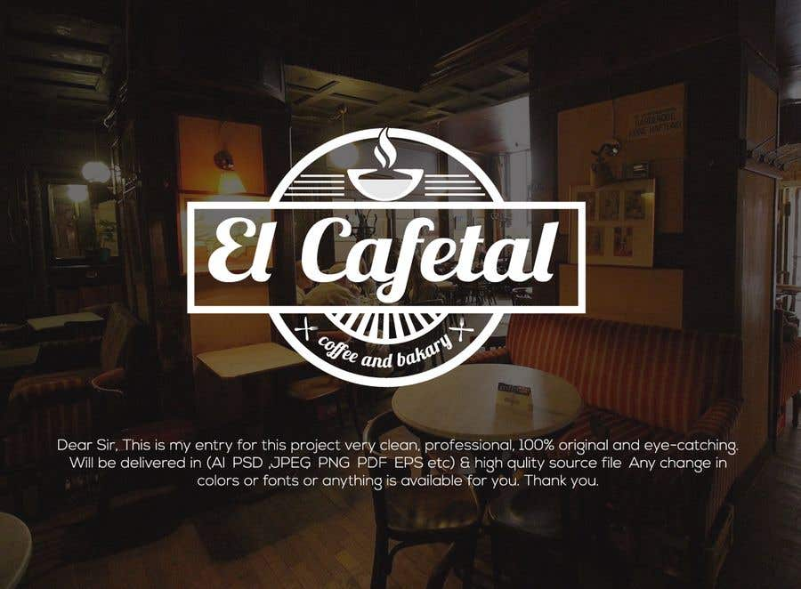 Entry 967 By Rupokblak For Cafetal Coffee Shop Bakery Freelancer
