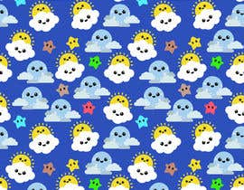 #6 untuk Create A Seamless Pattern of Image Examples In Cute Galactic Background oleh Bhavesh57