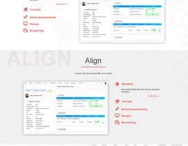 #7 для design a home page for a website от trandesign0105