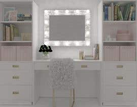 nº 14 pour design an a makeup dressing table with led lights and storage par emadbahgat888