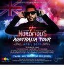 Graphic Design Конкурсная работа №40 для DJ Australia Tour Poster