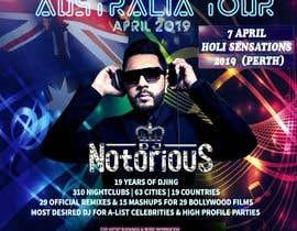 #32 для DJ Australia Tour Poster от toriqkhan