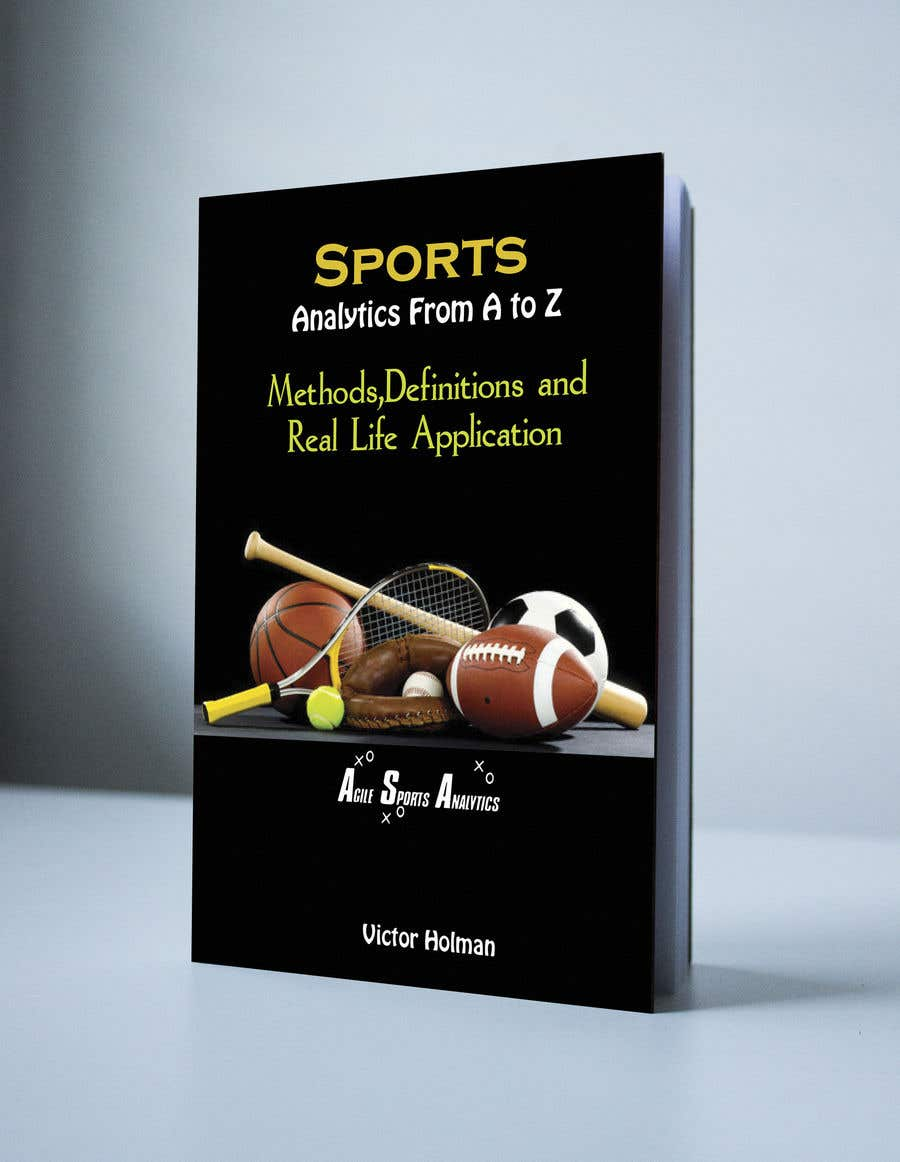 Proposition n°39 du concours Book Cover Design - Sports Themed