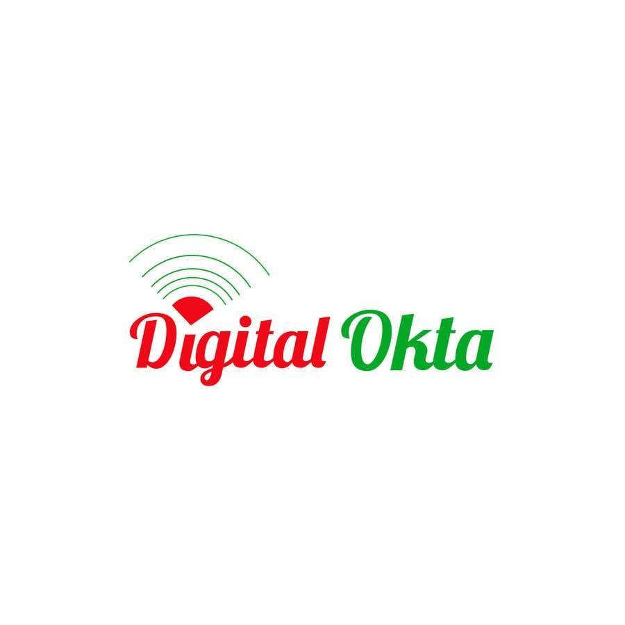 Penyertaan Peraduan #33 untuk DigitalOkta LogoDesign