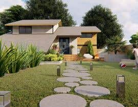 nº 20 pour 3D Frontyard Modern Design par alokbhagat