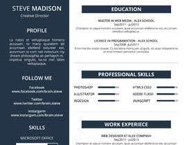 #19 cho Resume Design bởi Cloudsy11