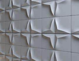 nº 28 pour Need interior designer of 3d wall tiles par deta3d2