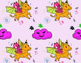 #4 for Create A Seamless Pattern of Baby Devils Riding On Evil Unicorns With Background Items Also by saurov2012urov