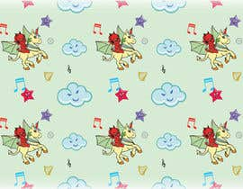 #12 for Create A Seamless Pattern of Baby Devils Riding On Evil Unicorns With Background Items Also by saurov2012urov