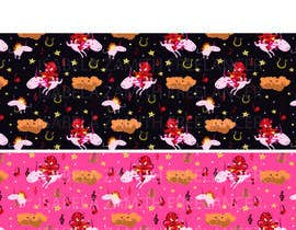 #2 for Create A Seamless Pattern of Baby Devils Riding On Evil Unicorns With Background Items Also by izywi