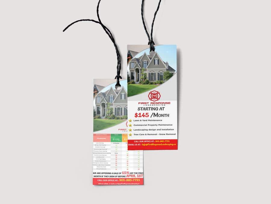 Inscrição nº 16 do Concurso para Door Hanger - Flyer Design