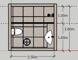 #7 cho bathroom design bởi maribelriveraram