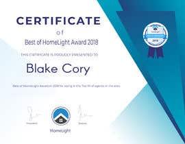 #15 untuk Award Certificate - 10/03/2019 13:38 EDT oleh Hisam7959