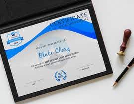 #18 untuk Award Certificate - 10/03/2019 13:38 EDT oleh shoppersbucket
