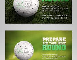 #20 untuk Build me an advertisement to send to golf courses oleh debeljic