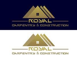 #1 untuk I need a logo designed for: Royal Carpentry & Construction oleh BreakingBrand