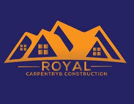 #11 untuk I need a logo designed for: Royal Carpentry & Construction oleh aziz68