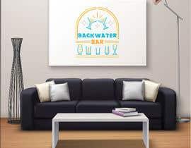 """RafiKhanAnik tarafından Business logo """"Backwater Bar"""" için no 47"""