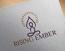 Nro 27 kilpailuun Logo designed for Yoga Studio - Rising Ember käyttäjältä meherab01855