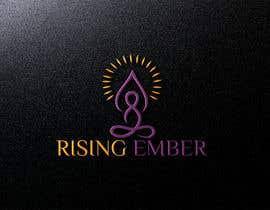 Nro 32 kilpailuun Logo designed for Yoga Studio - Rising Ember käyttäjältä meherab01855