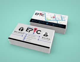 #65 for design double sided cards - EPIC by AzizulHoque1