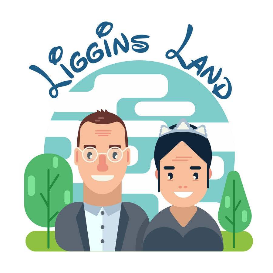 Inscrição nº 6 do Concurso para Design a fun, cartoon-like logo with caricatures