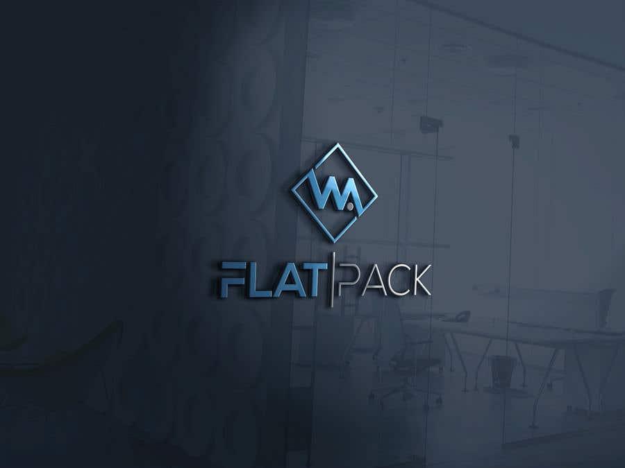 Penyertaan Peraduan #1364 untuk Logo WA FLAT PACK
