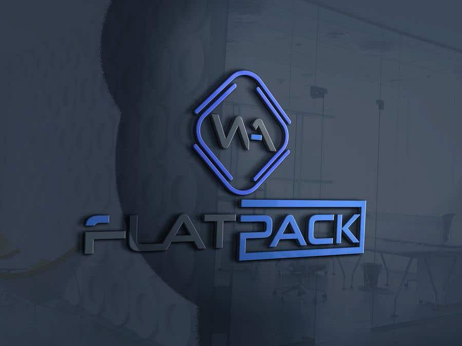 Penyertaan Peraduan #881 untuk Logo WA FLAT PACK