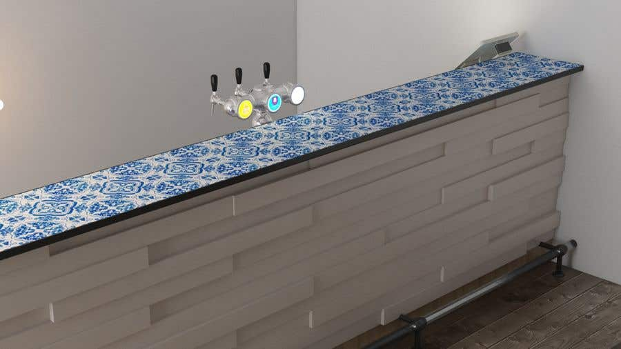 Contest Entry #7 for Design a bar in a restaurant
